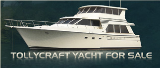 TollyCraft Yacht Tollycraft 53 Custom Hard Top Fly Bridge  Pilothouse Motor Yacht  PHMY
